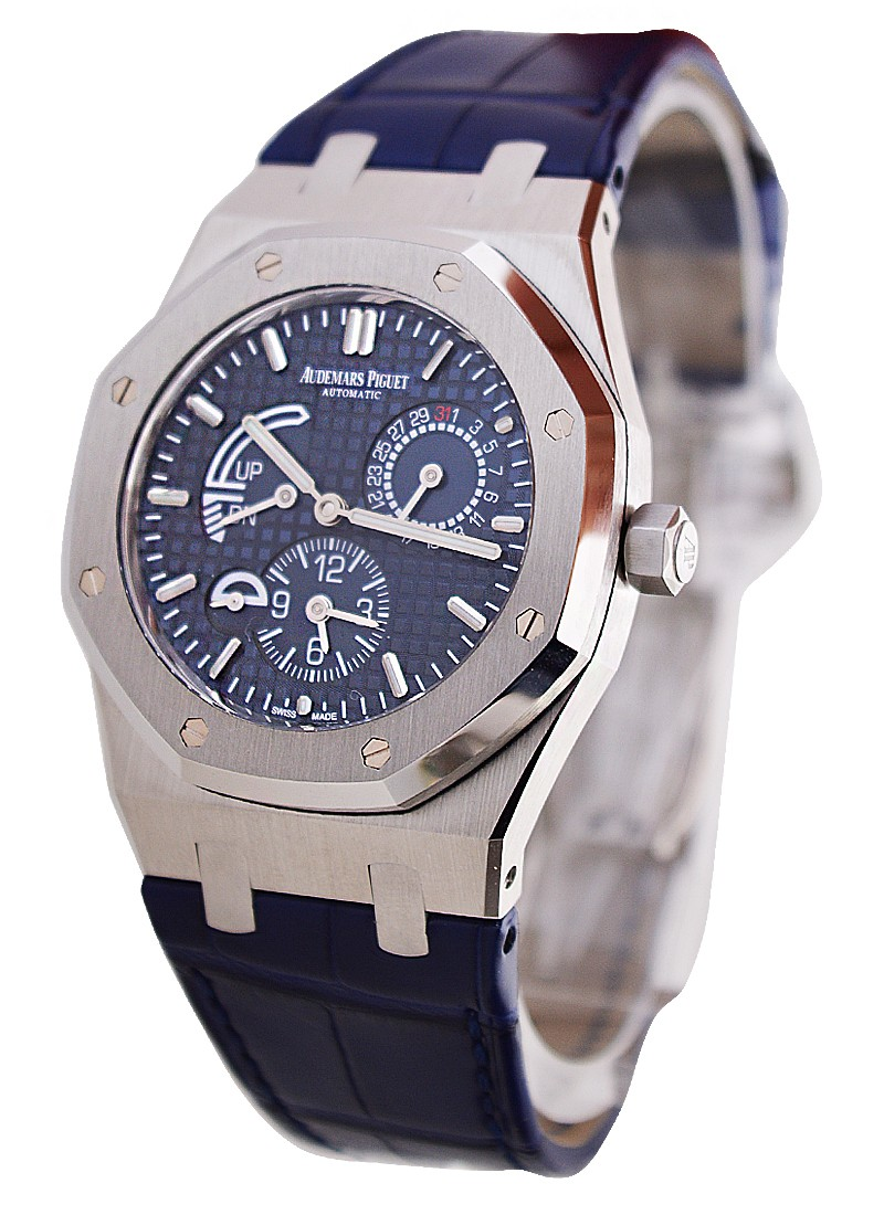 Audemars Piguet Royal Oak Dual Time 39mm  in Steel