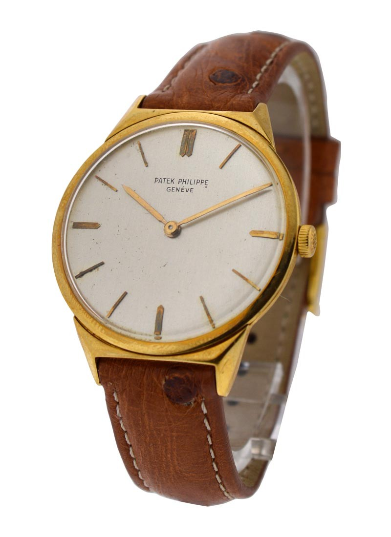 Patek Philippe Ref 2568 3 Yellow Gold 33mm   Mechanical Movement