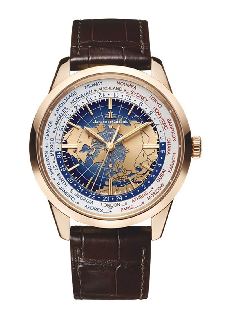 Jaeger - LeCoultre Geophysic Universal Time Automatic in Rose Gold
