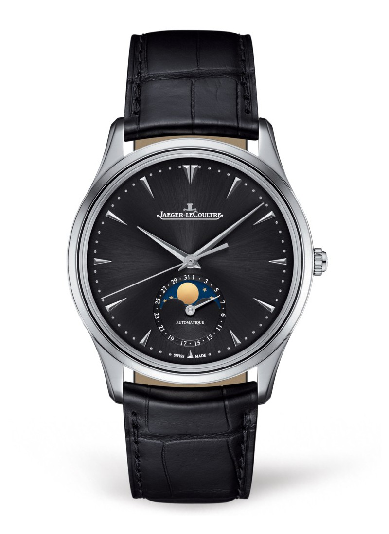 Jaeger - LeCoultre Master Ultra Thin Moon Automatic in Steel