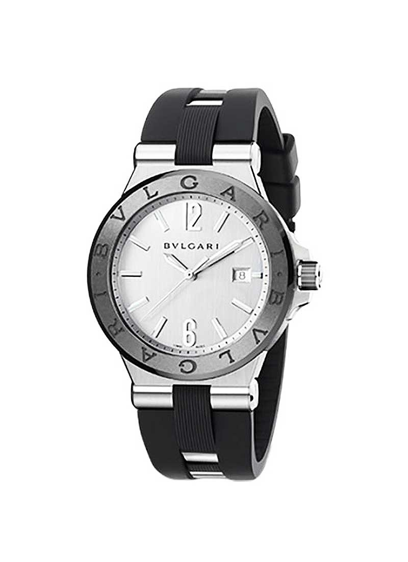 Bvlgari Diagono Date 42mm in Steel