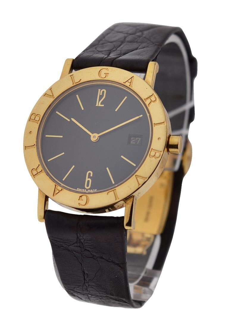 Bvlgari Bvlgari Bvlgari 33mm Quartz with Date in Yellow Gold