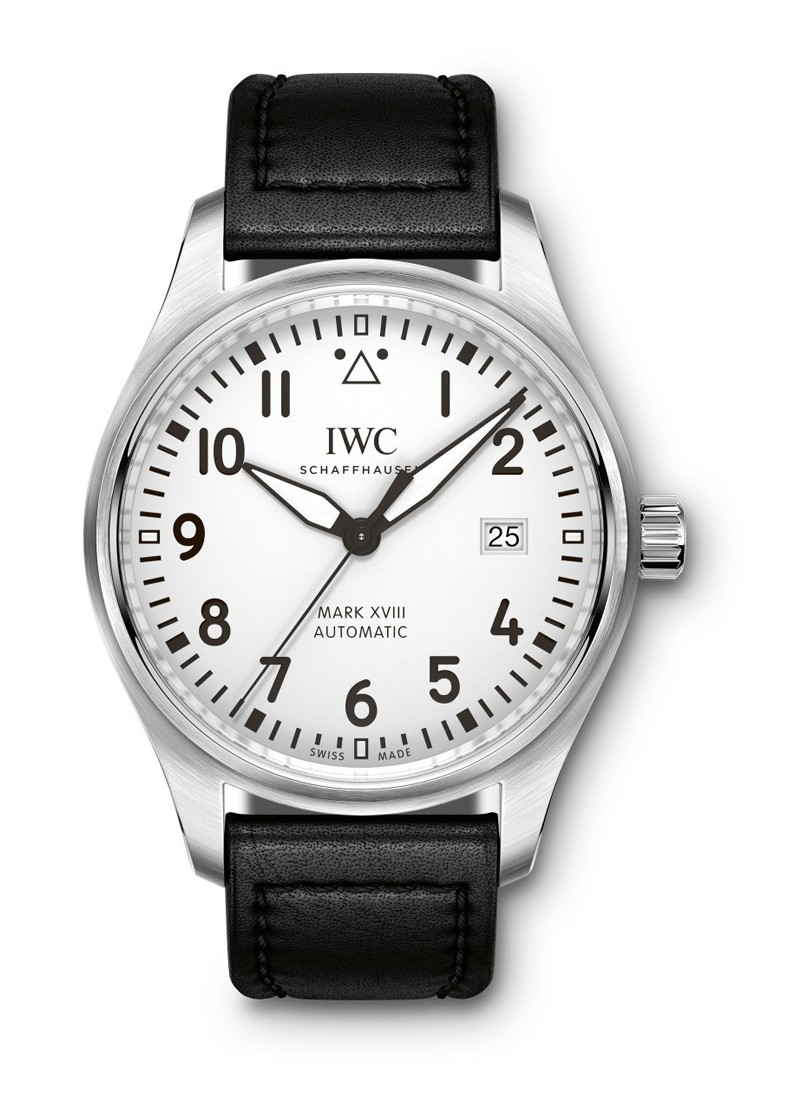 IWC Pilots Mark XVIII Automatic in Steel