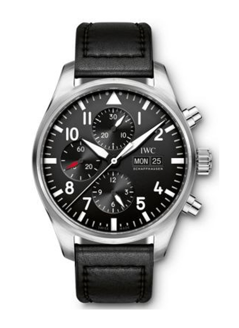 IWC Pilots Chronograph 43mm Automatic in Steel
