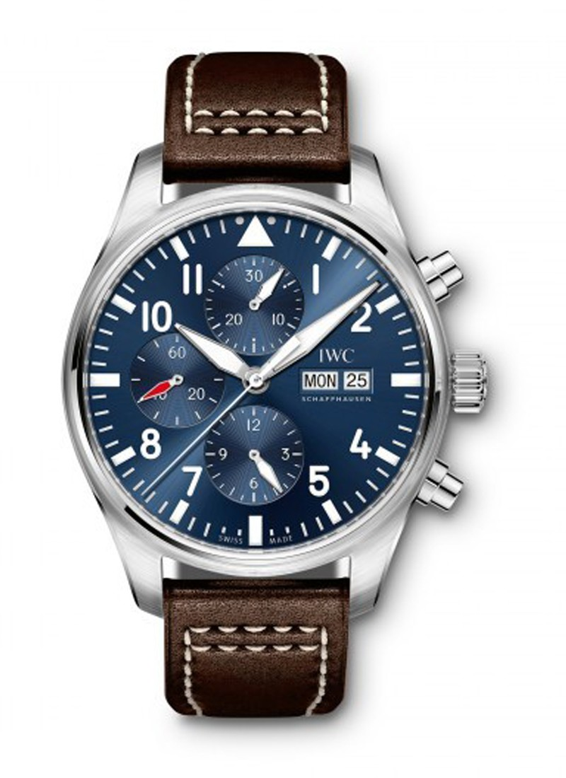 IWC Big Pilot Le Petit Prince Chronograph in Steel