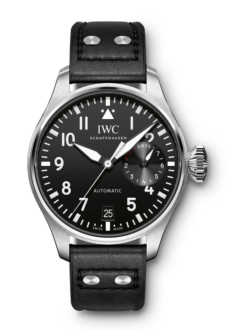 IWC Big Pilot Mens Automatic in Steel