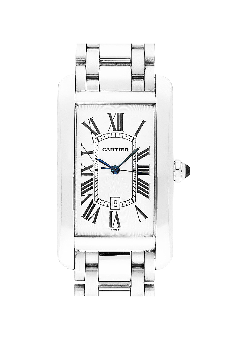 Cartier Tank Americaine in White Gold