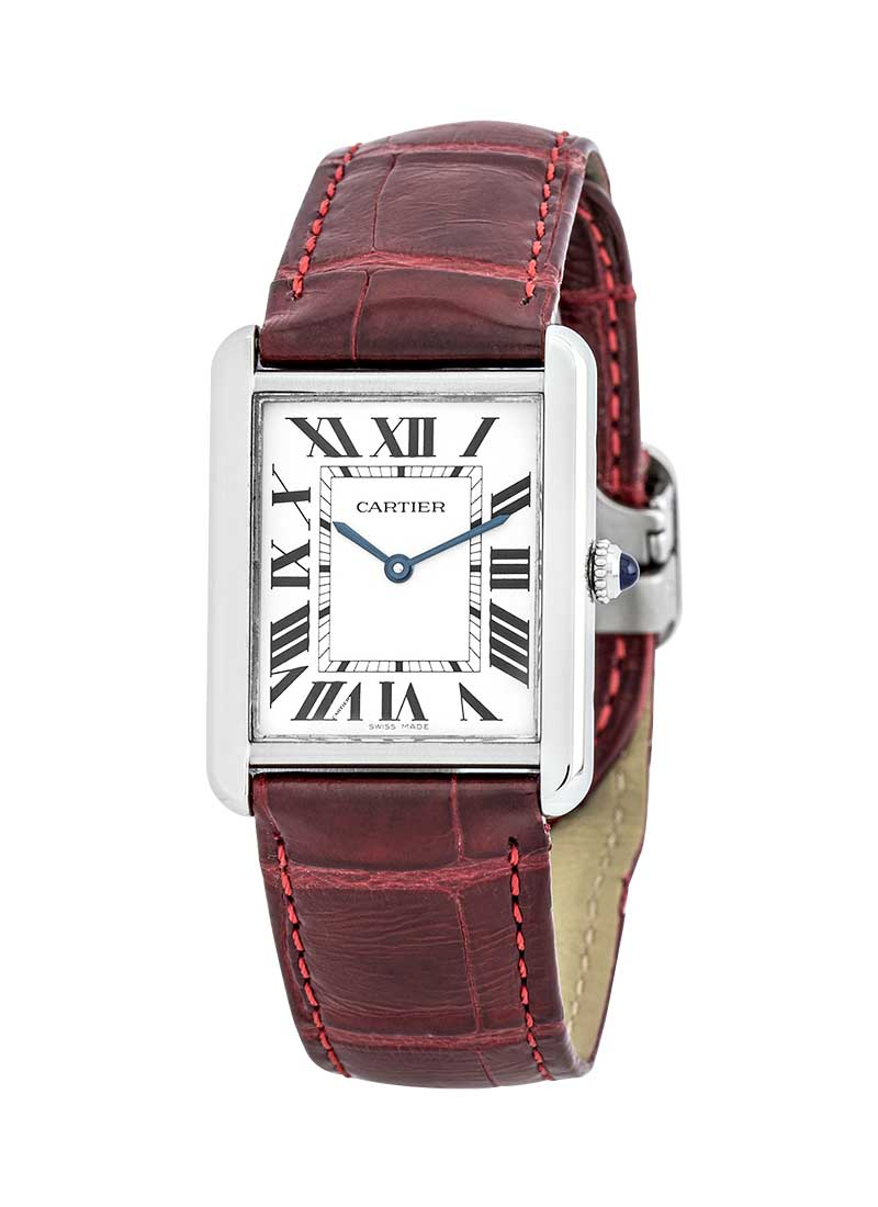 Cartier Tank Solo Ladies Quartz in Steel