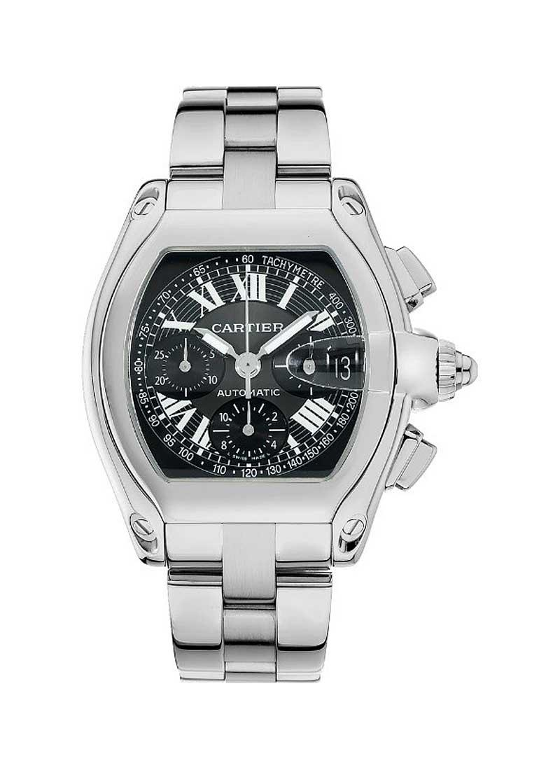 Cartier Roadster Chronograph 47mm Automatic in Steel