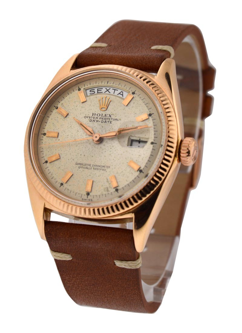 Rolex Used Vintage Rose Gold President from the 60's