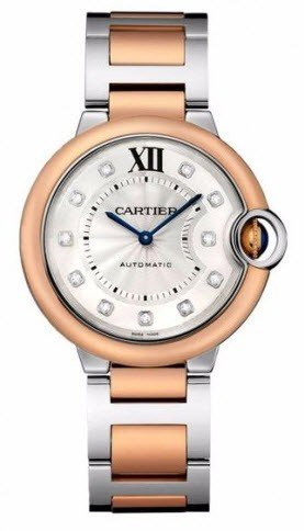 Cartier Ballon Belu de Cartier in Steel and Rose Gold