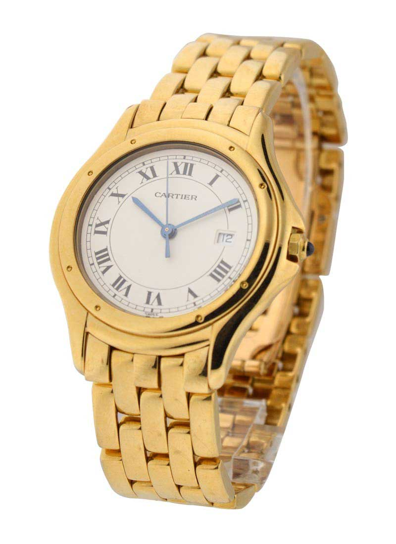 Cartier Santos 33mm Yellow Gold