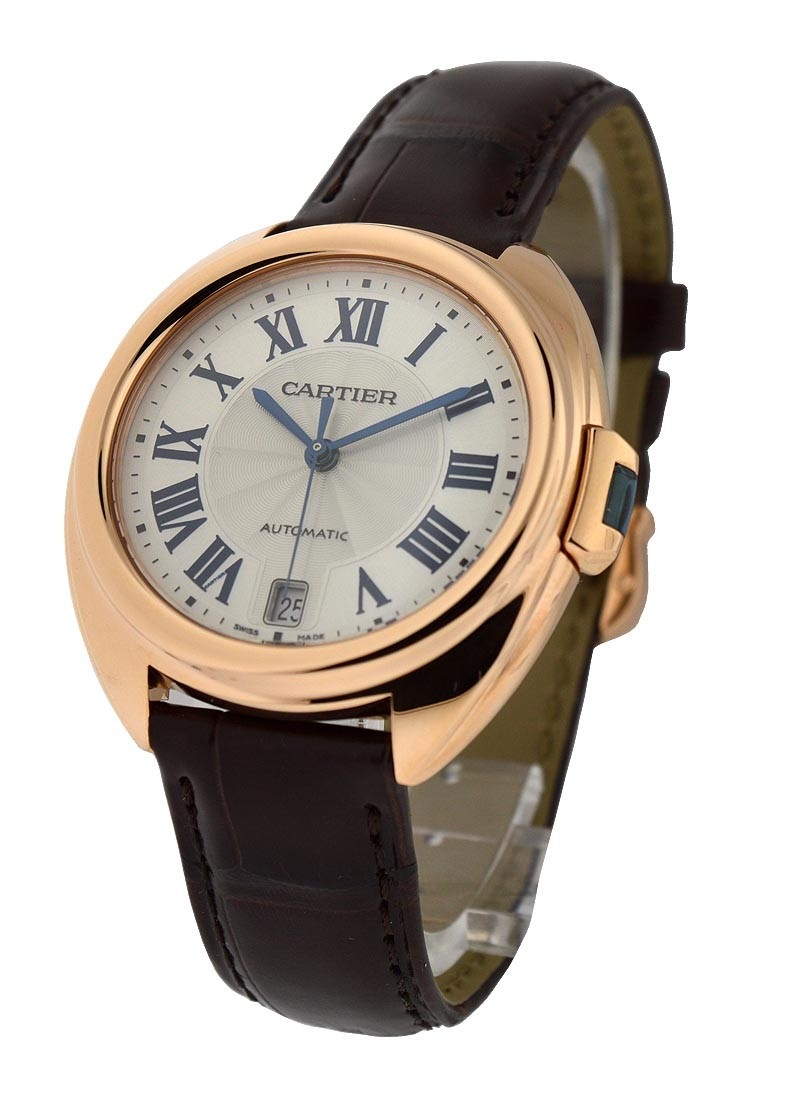 Cartier Cle de Cartier Ladies 35mm Automatic in Rose Gold