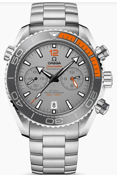 Omega Seamaster Planet Ocean Mens in Titanium