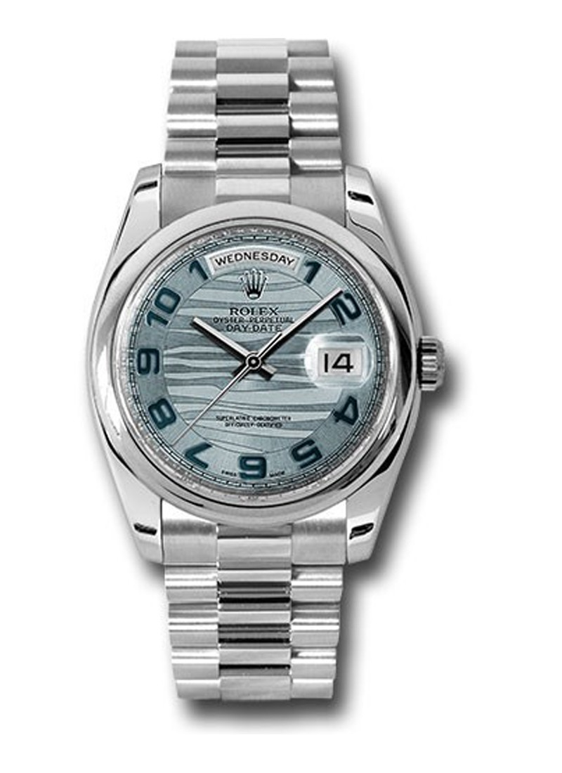Rolex Used 36mm Day Date President in Platinum
