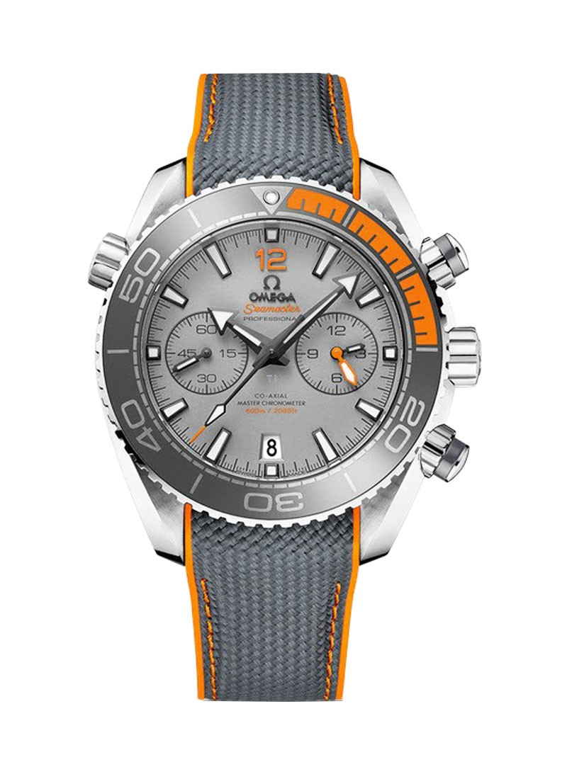 Omega Planet Ocean 600M Co-Axial Chronometer in Titanium