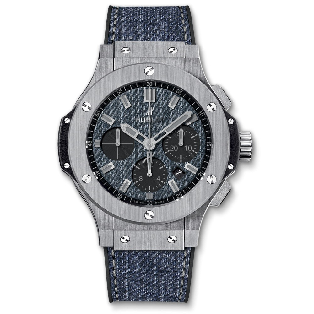 Hublot Big Bang Jeans Mens 44mm Automatic in Steel