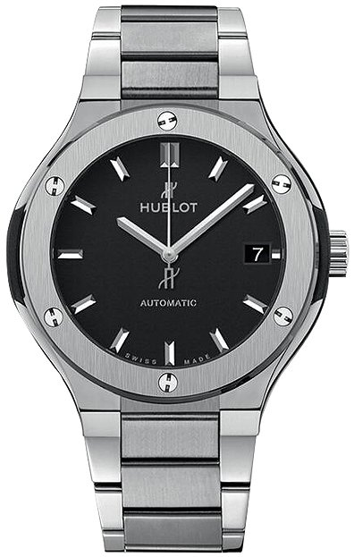 Hublot Classic Fusion 38mm Automatic in Tiitanium
