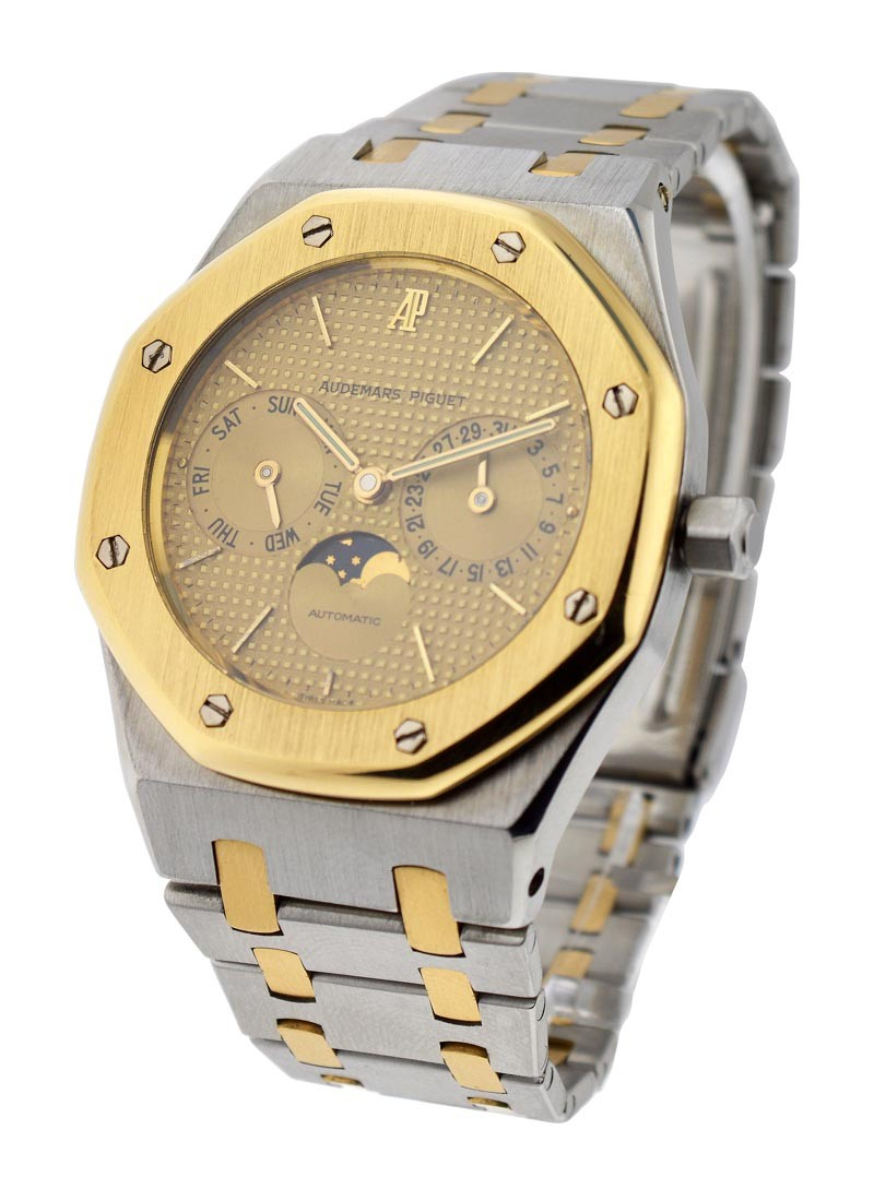 Audemars Piguet Royal Oak 36mm 2 Tone with Day Date and Moon Phase