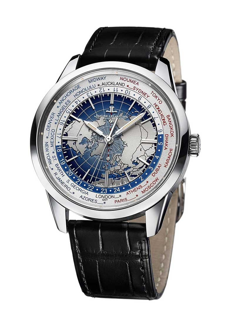 Jaeger - LeCoultre Geophysic Universal Time Automatic in Steel