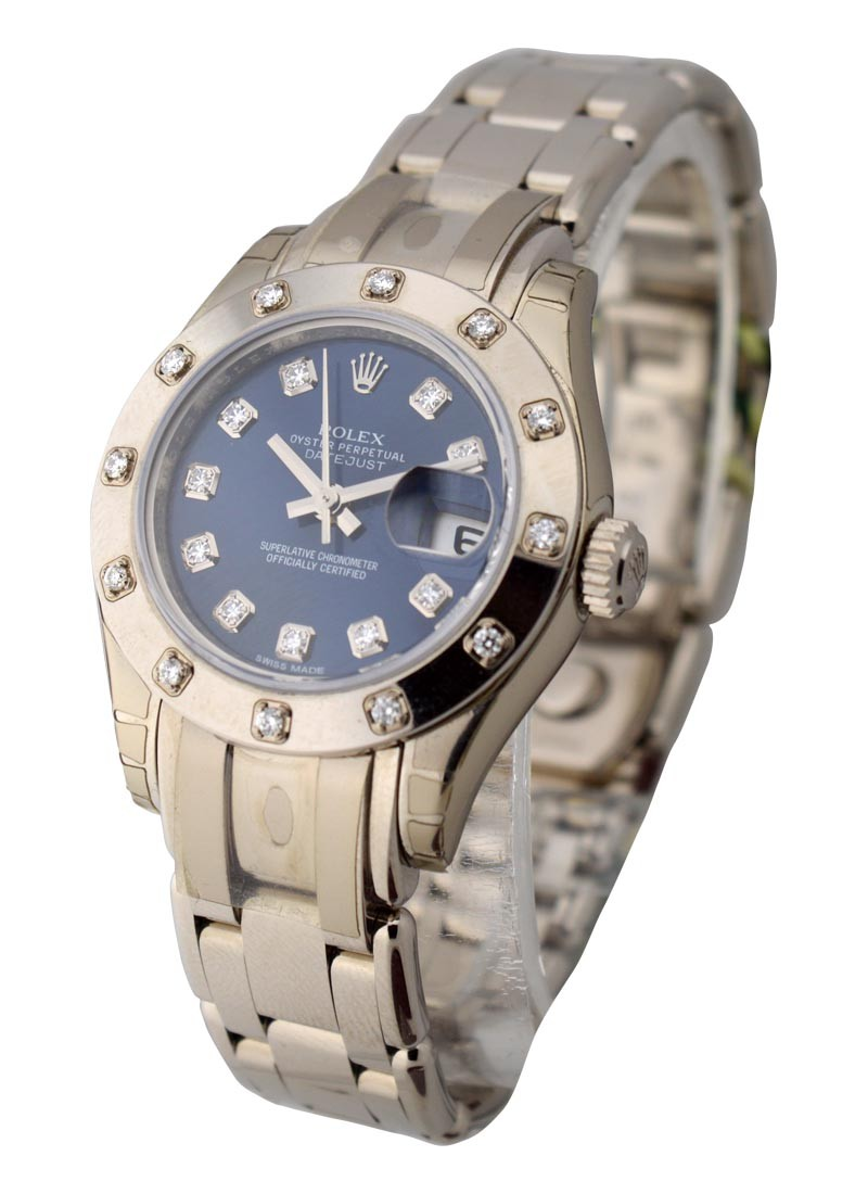Rolex Unworn DateJust Lady Masterpiece with 12 Diamond Bezel