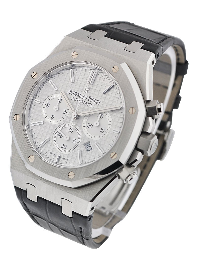 Audemars Piguet 41mm Royal Oak Chrono with Silver Dial