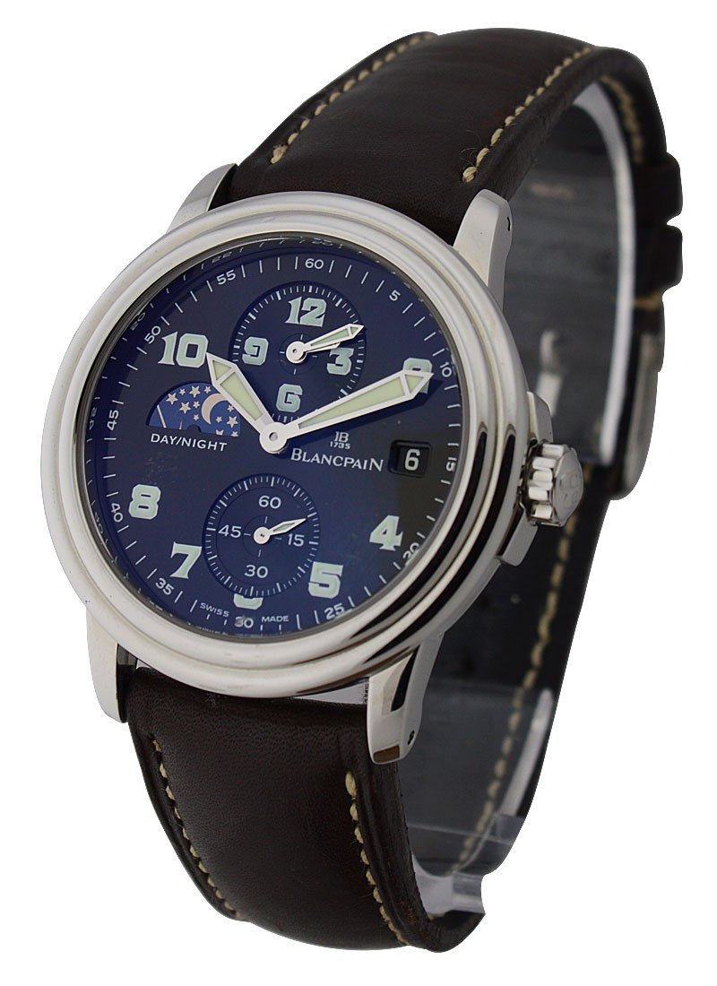 Blancpain Leman GMT & 2nd Time Zone