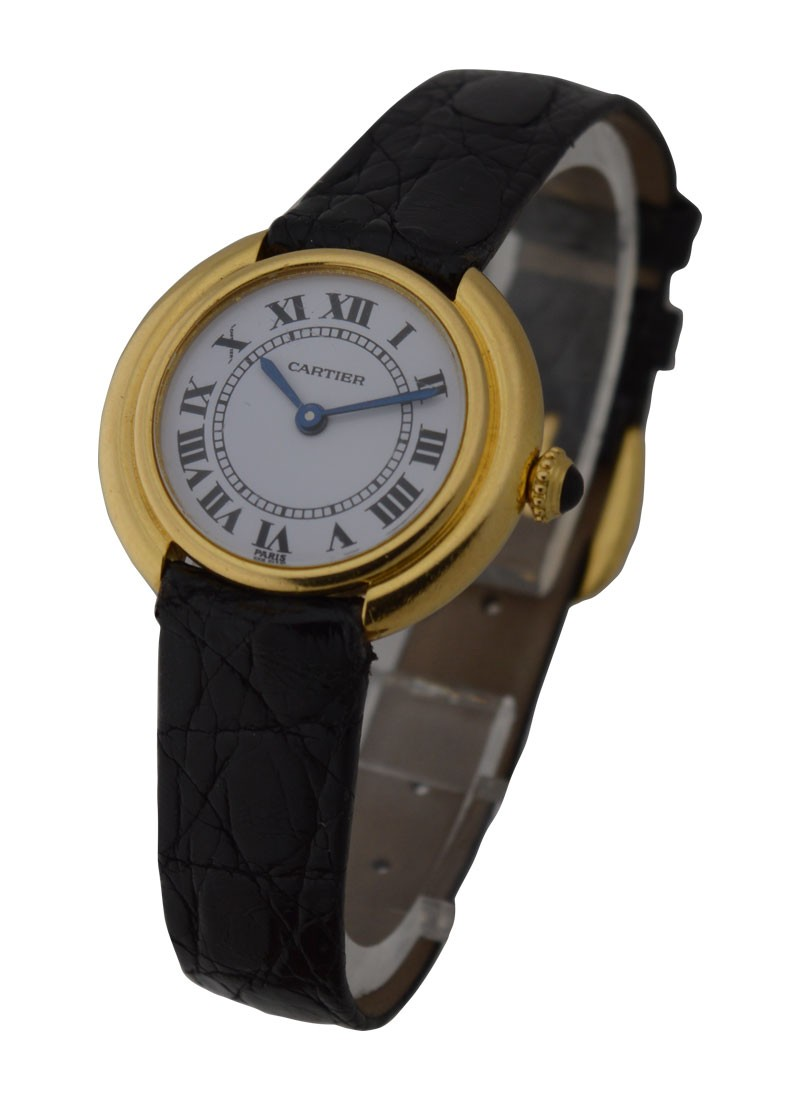 Cartier Colisee Yellow Gold Ladys Watch