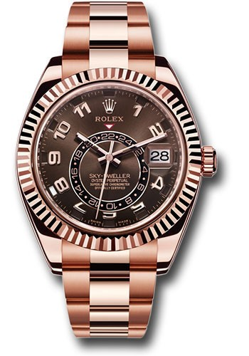 Rolex Used Sky Dweller 326935   Rose Gold