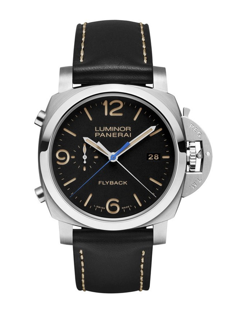 Panerai PAM 524   Luminor 1950 3 Days Chrono Acciaio Flyback