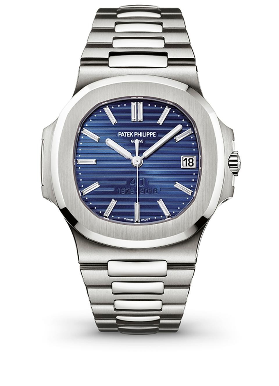 Patek Philippe Nautilus 5711P in Platinum 40th Anniversary