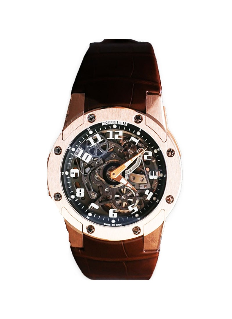Richard Mille RM 63 Dizz Hands in Rose Gold
