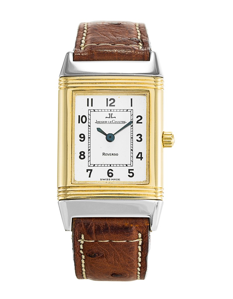 Jaeger - LeCoultre  Reverso Lady's in Steel and Yellow Gold - Circa 2000