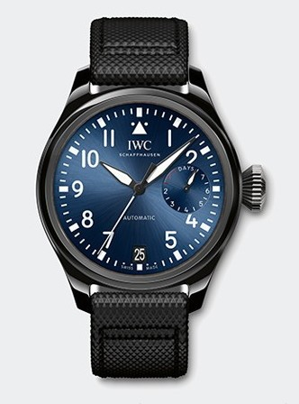 IWC Big Pilot Boutique Rode Drive in Ceramic