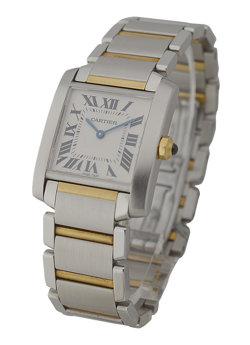 Cartier Tank Francaise Mid Size in 2 Tone
