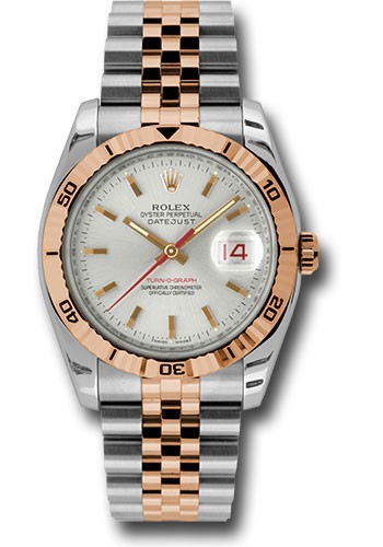 Rolex Used 2 Tone Oyster Perpetual Datejust   Steel and Rose Gold