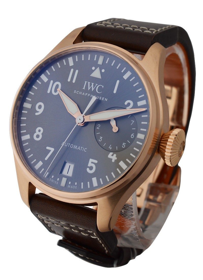 IWC Big Pilot Rose Gold with Grey Dial