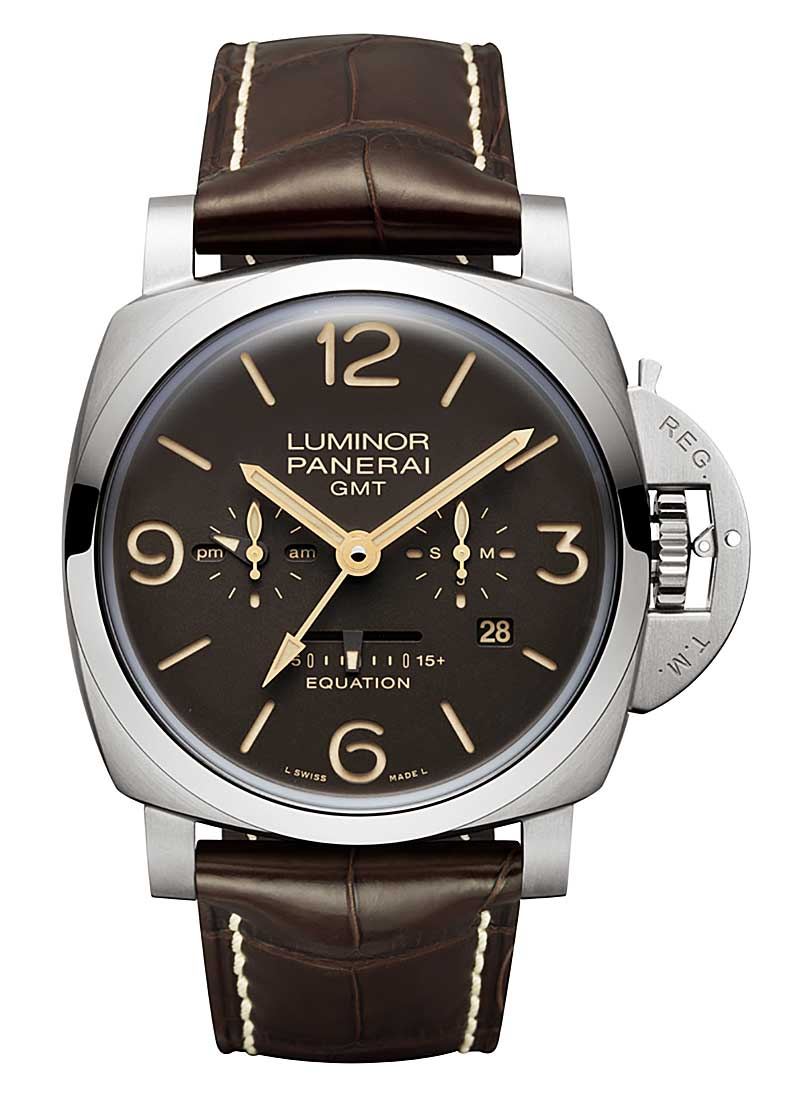 Panerai PAM 656 - Luminor 1950 Equation of Time 8 Days in Titanium