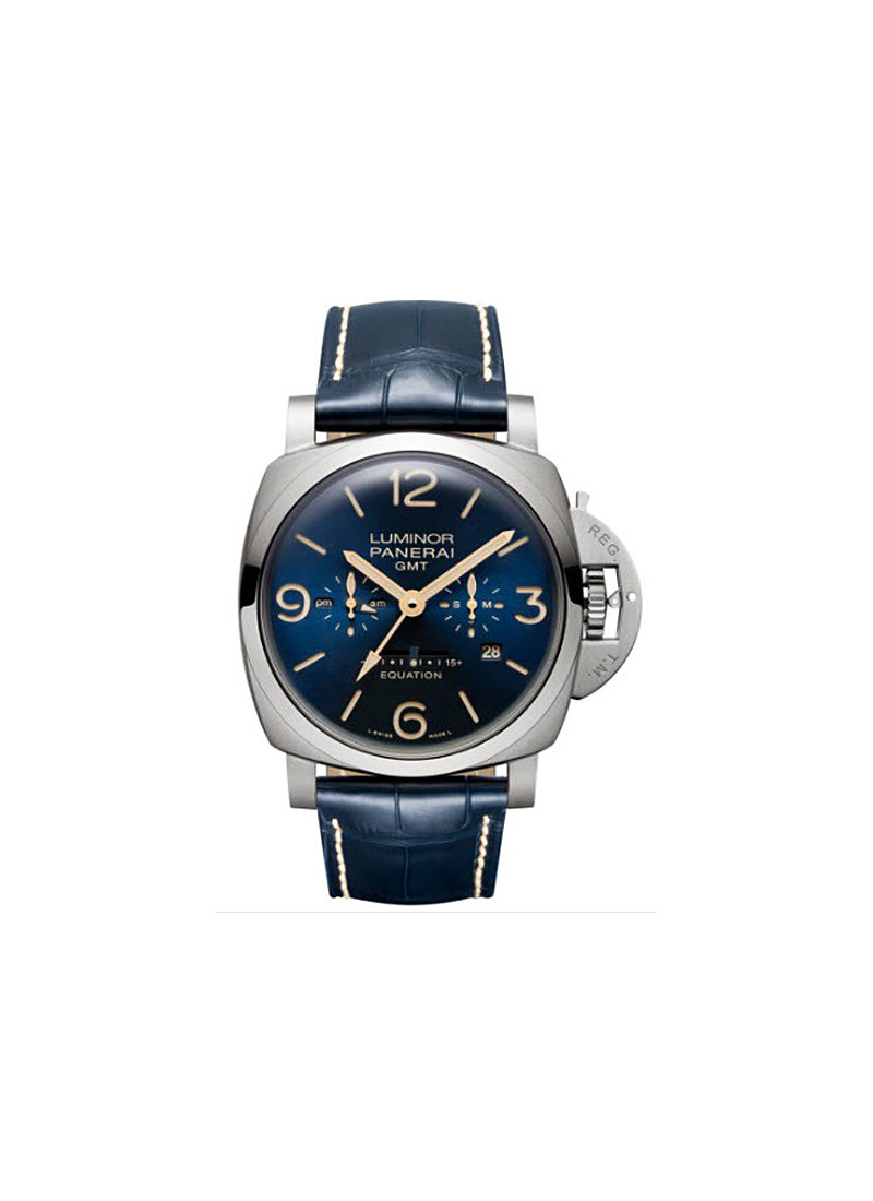 Panerai PAM 670 - Luminor 1950 Equation of Time 8 Days in Titanium