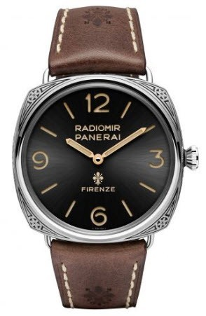 Panerai PAM 672 - Radiomir Firenze 3 Days Accaiao Engraved in Steel - Limited Edition of 99 pieces