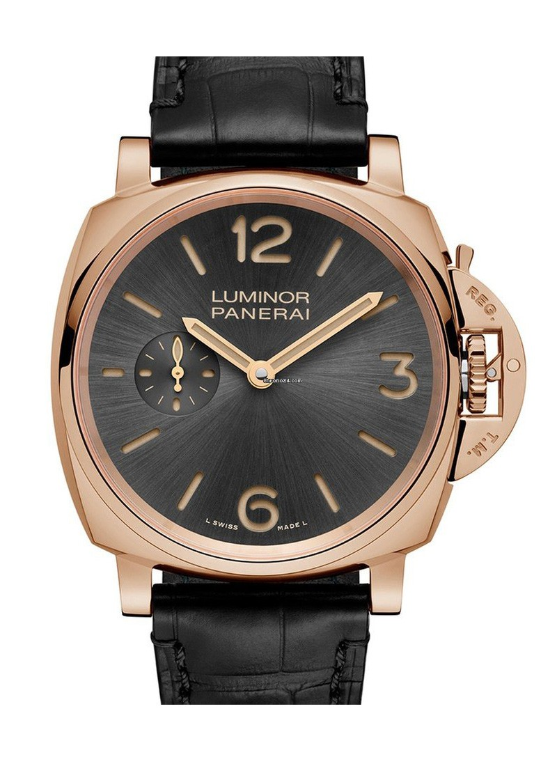 Panerai PAM 677   Luminor Due 3 Days Oro Rosso in Rose Gold