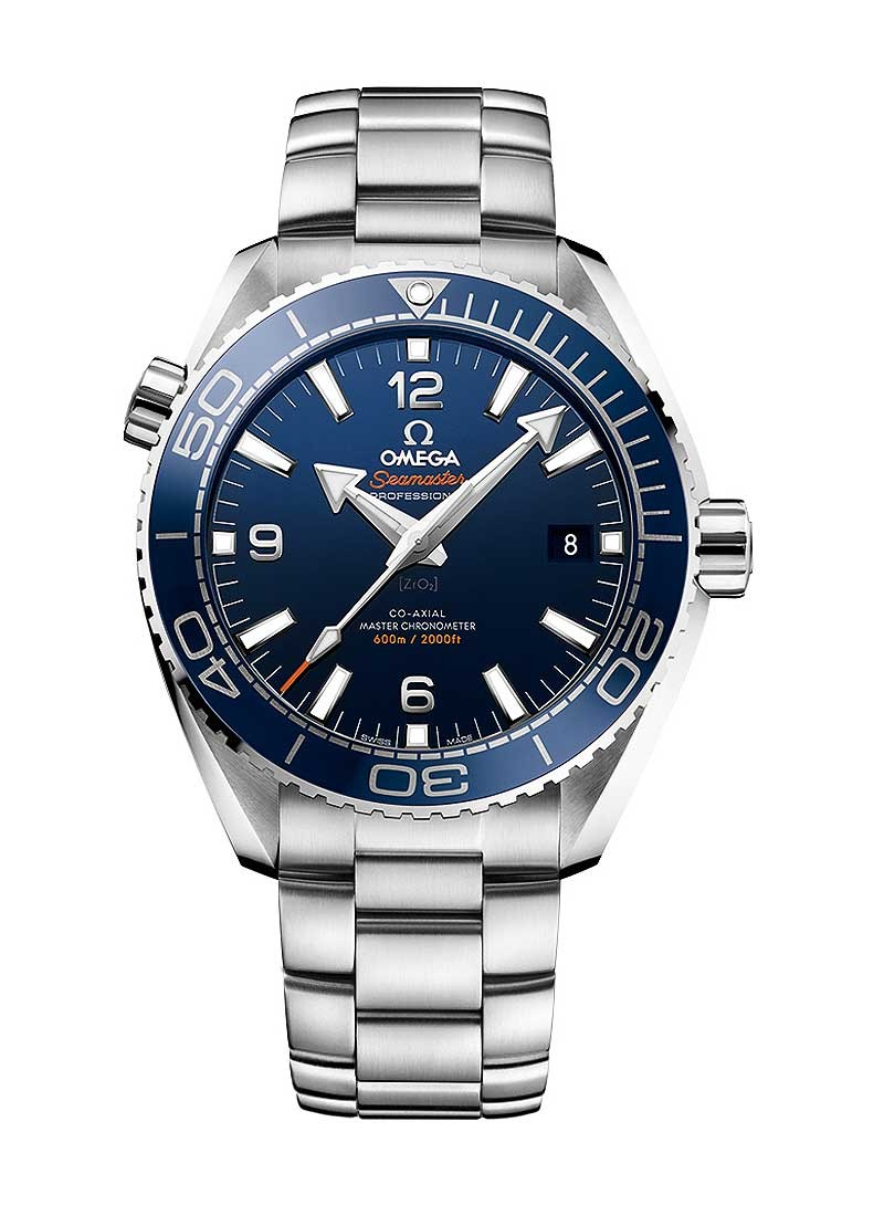 Omega Seamaster Planet Ocean 600m 43.5mm Automatic in Steel with Blue Bezel