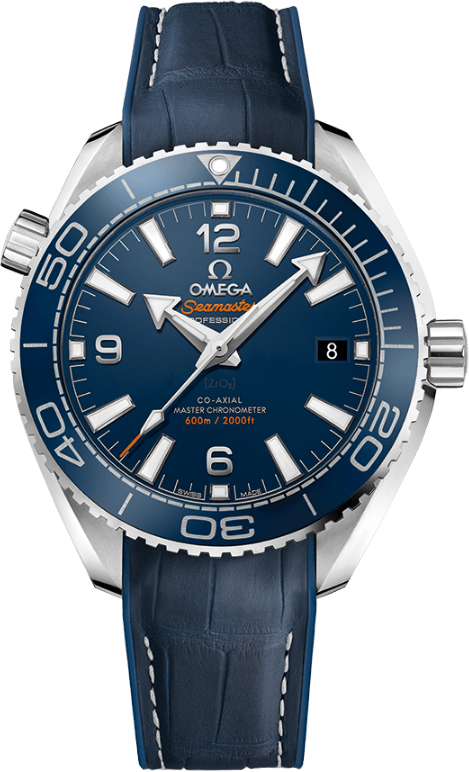 Omega Planet Ocean 600M Co-Axial Mens 39.5mm Automatic in Steel