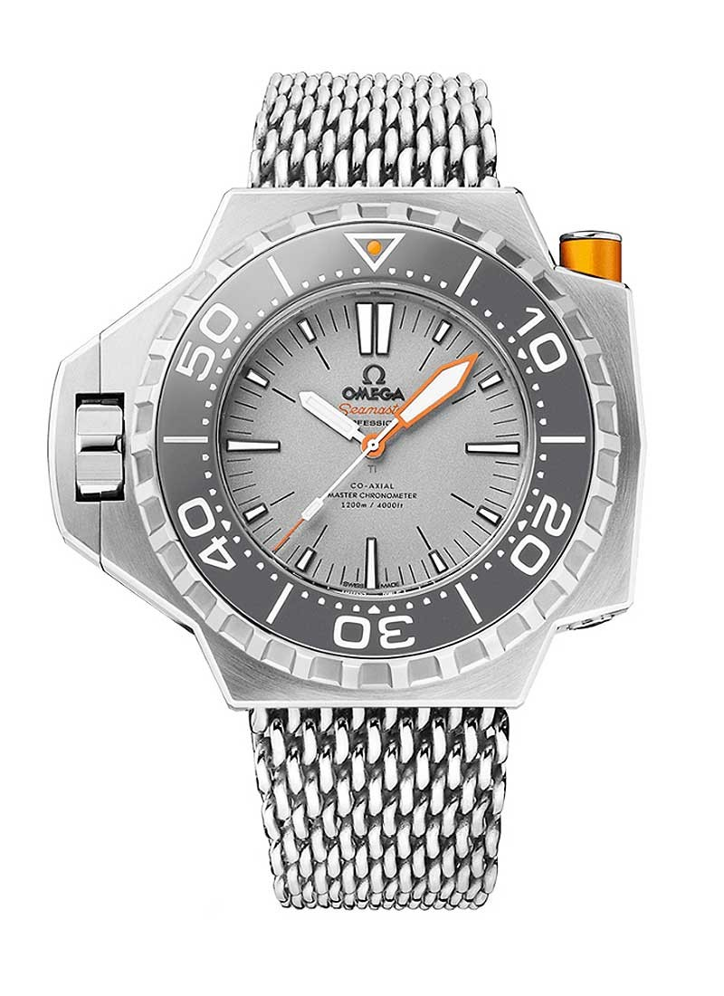 Omega Seamaster Ploprof Co-Axial Master Chronometer Automatic in Titanium - Grey Bezel