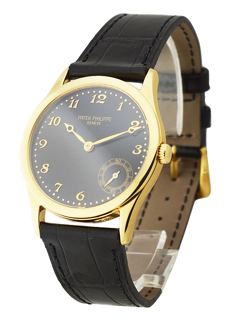 Patek Philippe 5026 Yellow Gold Calatrava Automatic in Yellow Gold