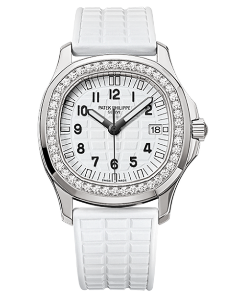 Patek Philippe Aquanaut 5067A 024 Quartz in Steel with Diamond Bezel