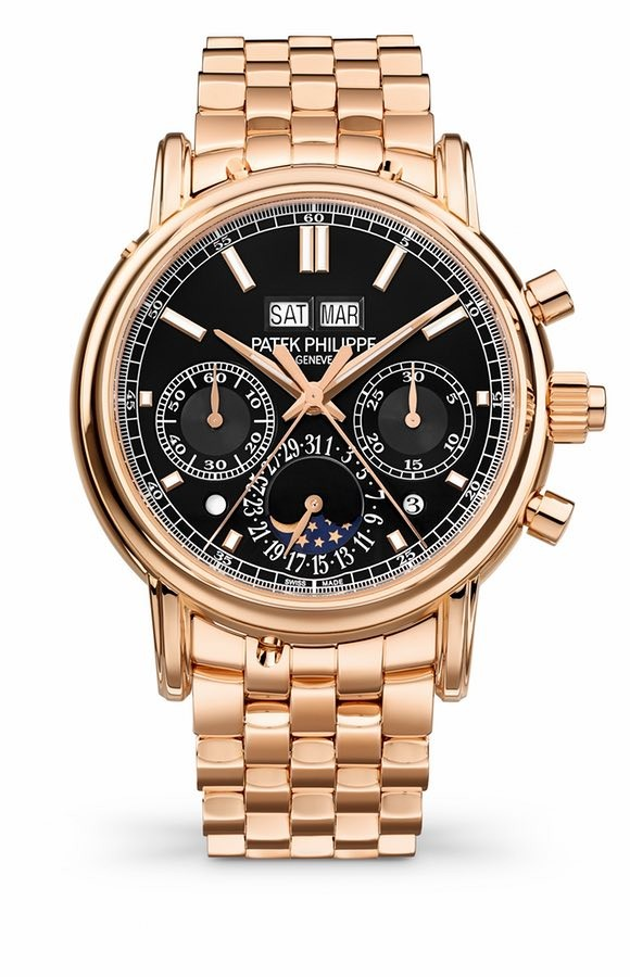 Patek Philippe Perpetual Calendar Split Seconds Chronograph in Rose Gold