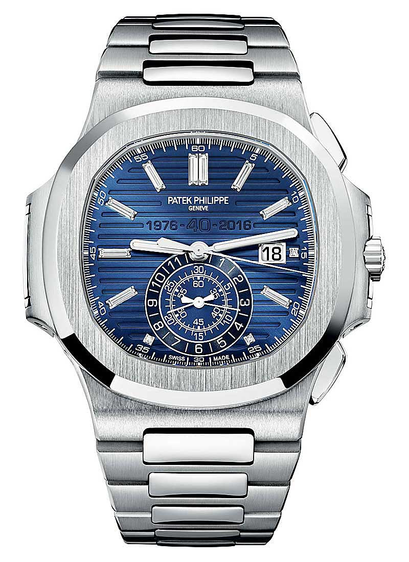 Patek Philippe Nautilus 5976/1G 40th Anniversary in White Gold