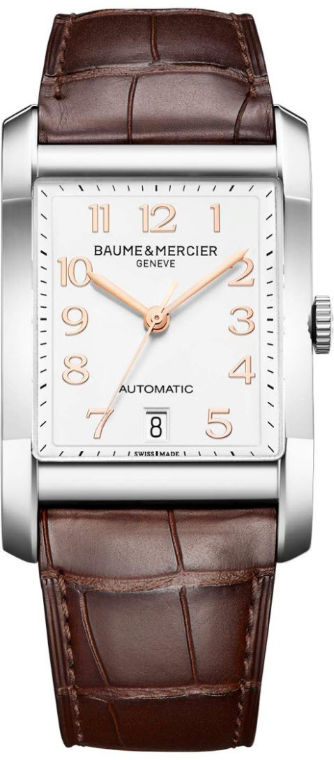 Baume & Mercier Hampton Rectangular 31mm in Steel