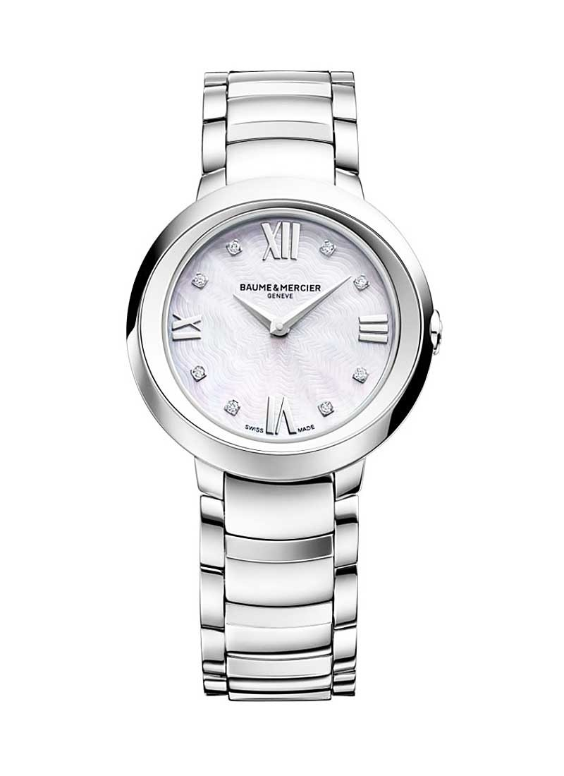 Baume & Mercier Promesse 30mm in Steel